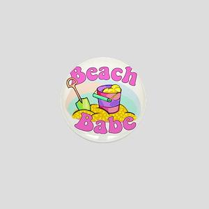 Beach Babe Mini Button
