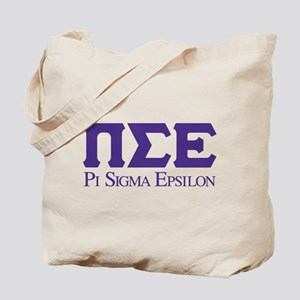 Pi Sigma Epsilon Logo Tote Bag