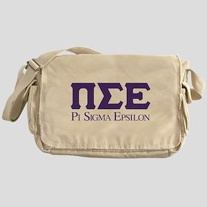 Pi Sigma Epsilon Logo Messenger Bag
