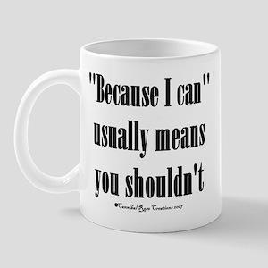 Moral Compass Mug