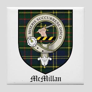 McMillan Clan Crest Tartan Tile Coaster