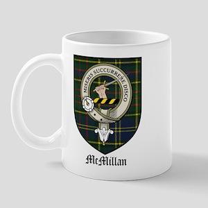 McMillan Clan Crest Tartan Mug