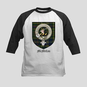McMillan Clan Crest Tartan Kids Baseball Jersey