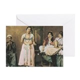 Belly dancing Greeting Cards