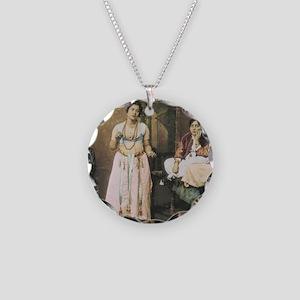 EgyptianDancer_MOUSE_FelixB Necklace Circle Charm