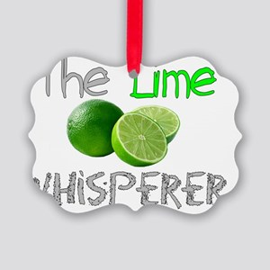 The Lime Whisperer Picture Ornament