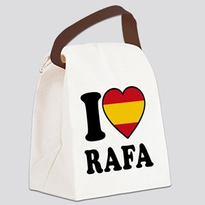 Rafa Flag Canvas Lunch Bag
