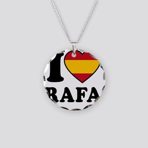 Rafa Flag Necklace Circle Charm