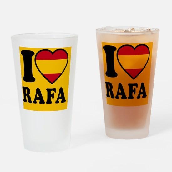 Rafa Flag Btn2 Drinking Glass