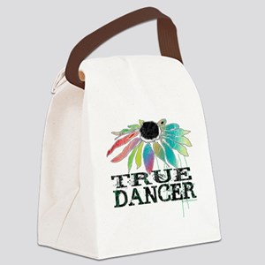 true dancer coneflower for white  Canvas Lunch Bag