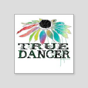 """true dancer coneflower for  Square Sticker 3"""" x 3"""""""