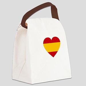 Rafa Flag -dk Canvas Lunch Bag