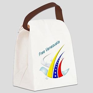 Free Venezuela Final Canvas Lunch Bag