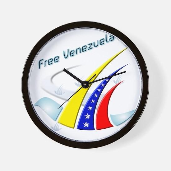Free Venezuela Final Wall Clock