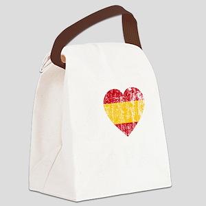 Rafa Faded Flag -dk Canvas Lunch Bag