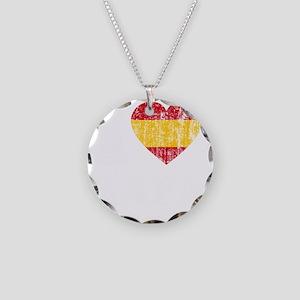Rafa Faded Flag -dk Necklace Circle Charm
