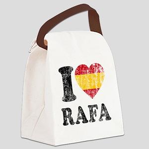 Rafa Faded Flag Canvas Lunch Bag