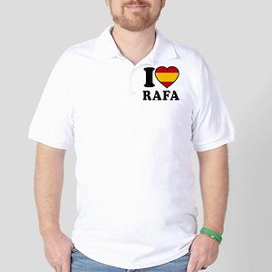 Rafa Flag Btn1 Golf Shirt