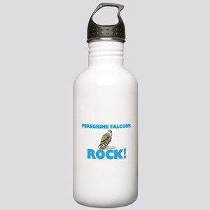 Peregrine Falcons rock Stainless Water Bottle 1.0L