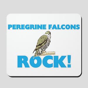 Peregrine Falcons rock! Mousepad