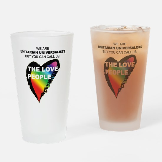 LOVE PEOPLE Drinking Glass