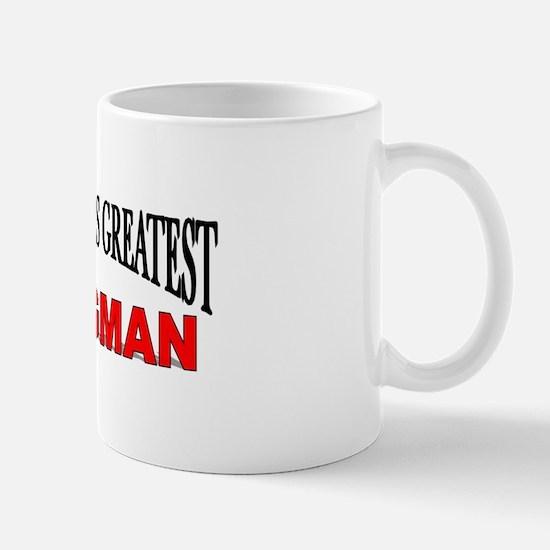 """The World's Greatest Wingman"" Mug"