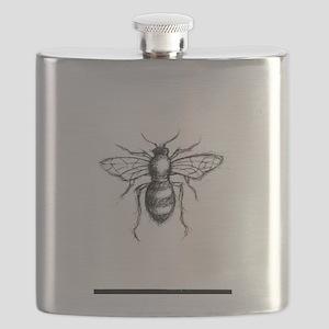 Bee Sketch Flask