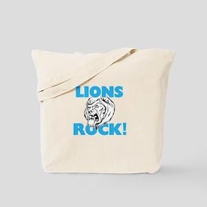Lions rock! Tote Bag