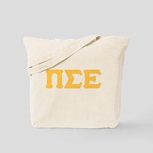 Pi Sigma Epsilon Letters Tote Bag