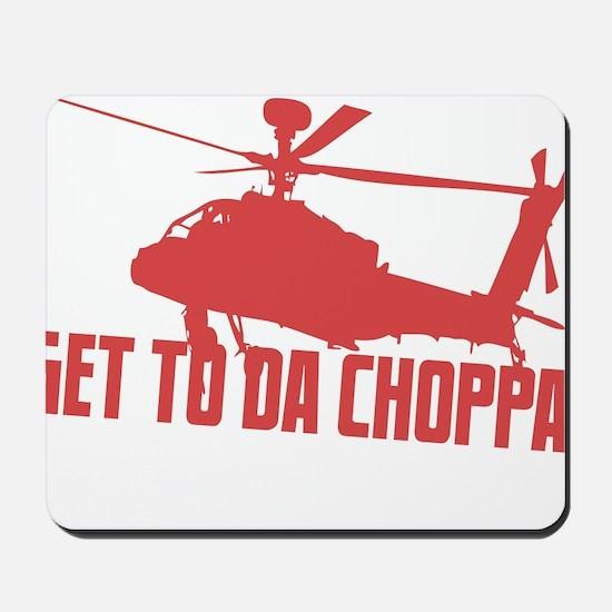 CHOPPA1 Mousepad