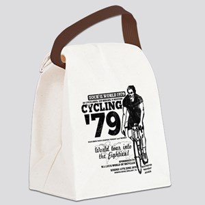 cycling01new Canvas Lunch Bag