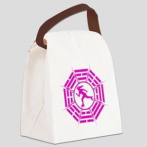 DHARMA_DERBY_GIRL r Canvas Lunch Bag