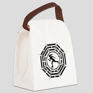 DHARMA_DERBY_GIRL Canvas Lunch Bag