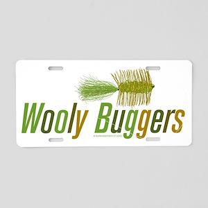WoolyBugger Aluminum License Plate