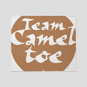 TeamCamelToe Throw Blanket