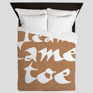 TeamCamelToe Queen Duvet