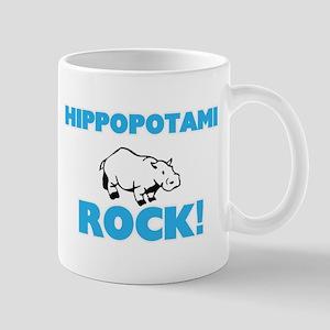 Hippopotami rock! Mugs