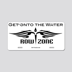 rz_logo_black Aluminum License Plate