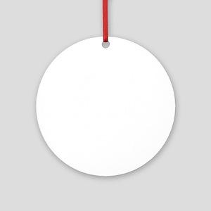 Ukulele GrandPa Round Ornament