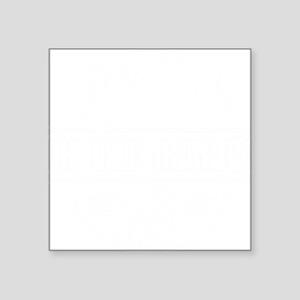 """Ukulele GrandPa Square Sticker 3"""" x 3"""""""