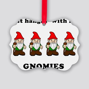 my gnomies Picture Ornament