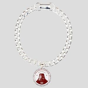 Devils Tower W Charm Bracelet, One Charm