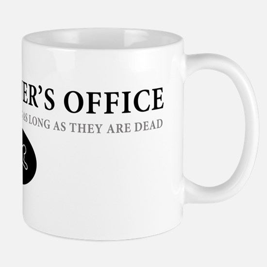 coroners office Mug