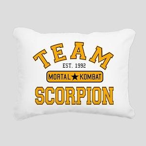 mortal-kombat-team-scorp Rectangular Canvas Pillow