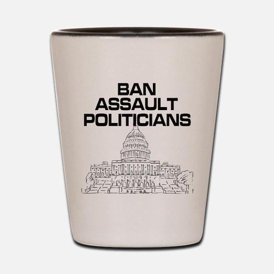 Cute Politicians Shot Glass