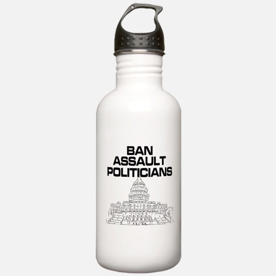 Funny Banning Water Bottle
