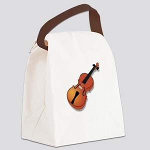 Plays With String Theory 3 BW Canvas Lunch Bag