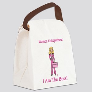 I am The Boss Canvas Lunch Bag