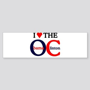 HILLARY CLINTON AND BARACK OB Bumper Sticker