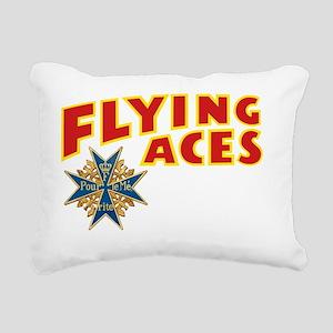 FAC_logo_ONE_3_dark Rectangular Canvas Pillow